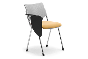 chaise de collettivite multi usages avec tablet - LaMia